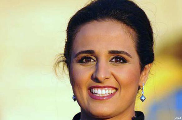 شيخه مياسه آلثاني خواهر پادشاه قطر و بنیانگذار موسسه فیلم دوحه
