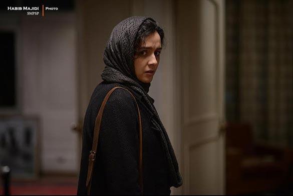 ترانه علیدوستی در نمایی از فیلم سینمایی