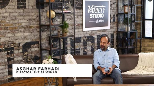 اصغر فرهادی در استودیو ورایتی