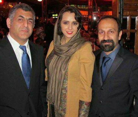 اصغر فرهادی، ترانه علیدوستی و مانی حقیقی