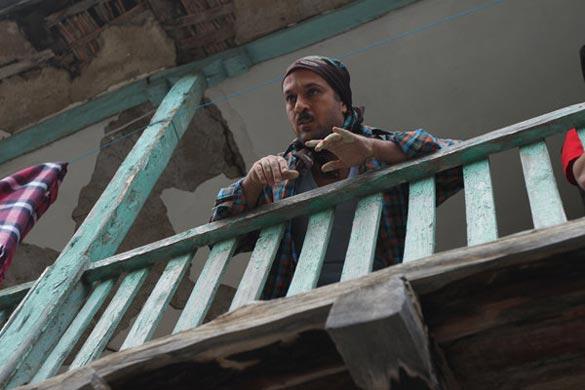 احمد مهرانفر در نمایی از فیلم سینمایی
