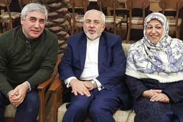 محمدجواد ظریف - ابراهیم حاتمی کیا